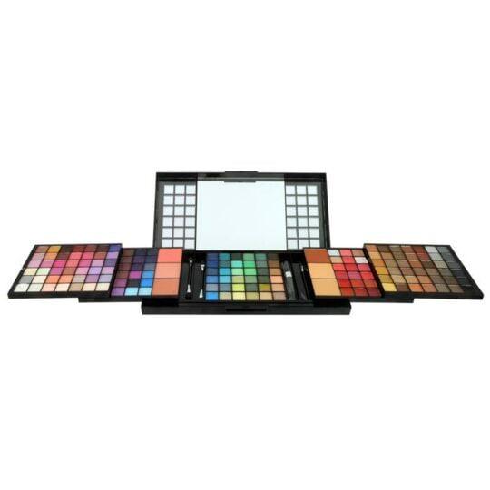 Palette De Maquillage En Cascade - Visage & Lèvres - Avec Miroir GLOSS