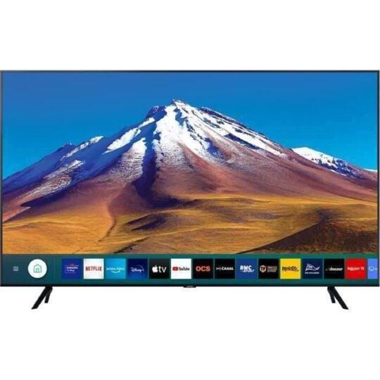 "TV LED 4K Crystal UHD 55""  138 cm  - 55TU7025 - Noir"