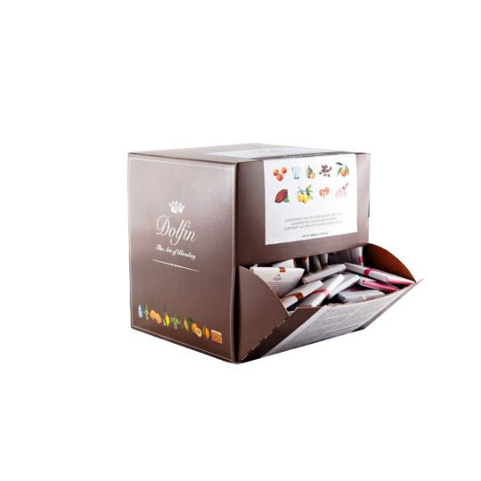 Assortiment de carrés gourmands de chocolat - 9 saveurs - Vrac 1800g CHOCOLAT DOLFIN