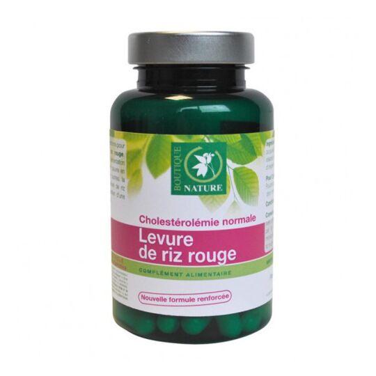 Levure De Riz Rouge Bio- 60 Gélules Végétales De 333 Mg BOUTIQUE NATURE