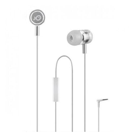 Ecouteurs intra-auriculaire avec micro - PSINTM02 - Blanc