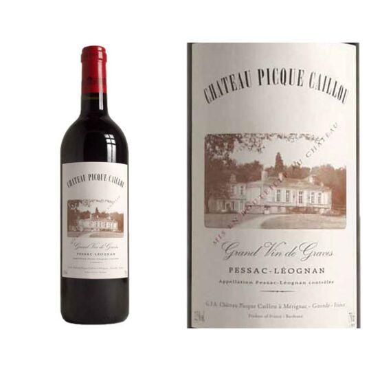 Château Picque-caillou Rouge 2015 - Vin  Rouge