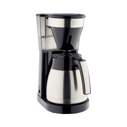Cafetière électrique Easytop Therm Steel - 1023-10 - Noir/Inox