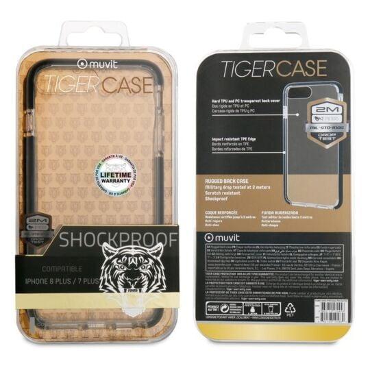 Coque de protection renforcée pour iPhone 7 /8 - TGBKC0005 ...