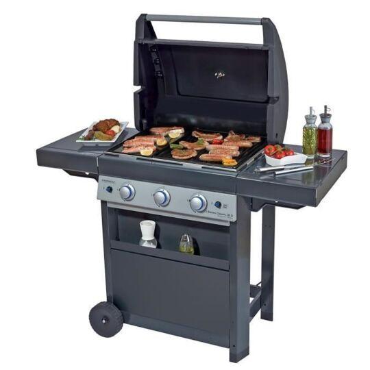 Campingaz Barbecue A Gaz Class 3  Lbd - Grille Et Plancha En Acier - 6