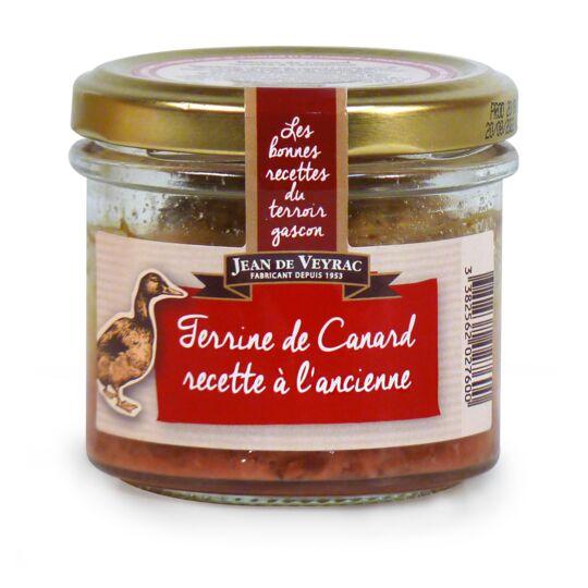 Terrine de Canard recette à l'ancienne JEAN DE VEYRAC