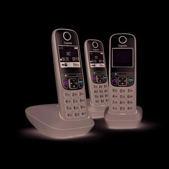 Téléphone fixe sans fil Trio - A635 - Anthracite