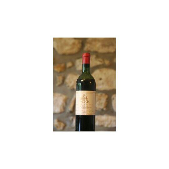 Vin Rouge, Château Moulinet 1964 1964
