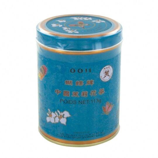 Thé Au Jasmin De Chine En Vrac - Qualité Premium - 113g - 1 Boîte BUTTERFLY