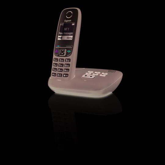 Telephone Fixe Sans Fil Avec Repondeur As435 A Solo Noir A Prix Carrefour
