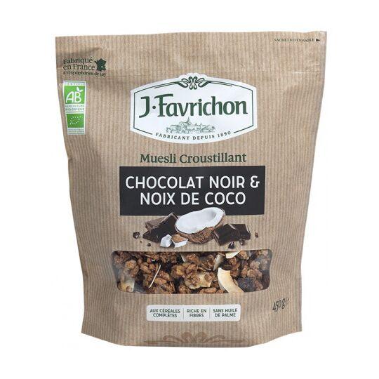 Muesli Croustilllant Chocolat Noir & Coco FAVRICHON