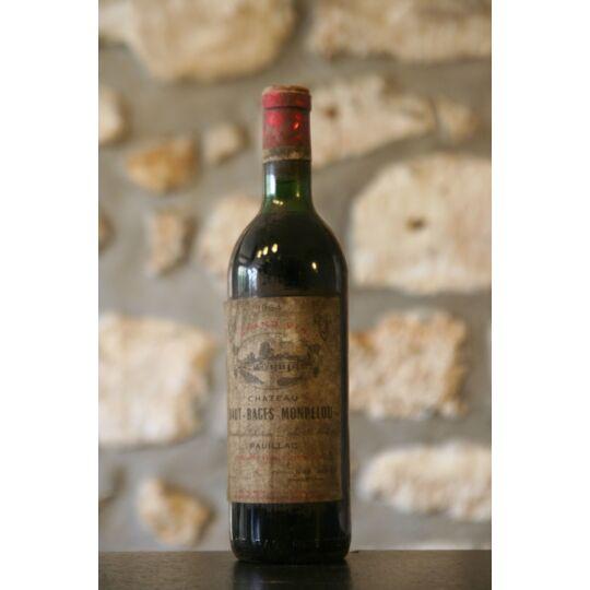 Vin Rouge, Château Haut Bages Monpelou 1964 1964