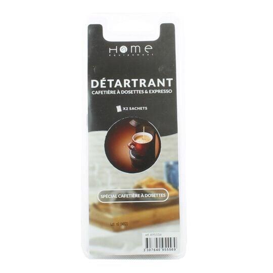 Détartrant poudre pour cafetière à dosettes x 2 - C95556