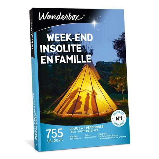Week-end Insolite En Famille WONDERBOX