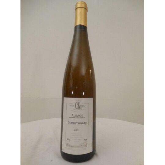 Gewurztraminer Koehly Blanc 2001 - Alsace.