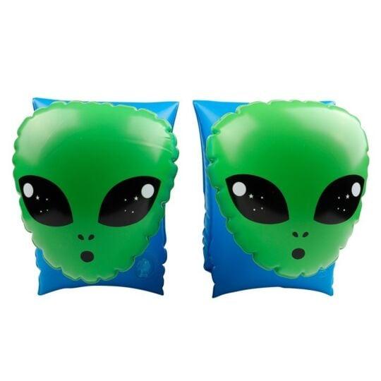 Brassard Gonflable Alien Extra-terrestre Vert 18 X 14 Cm AIRMYFUN