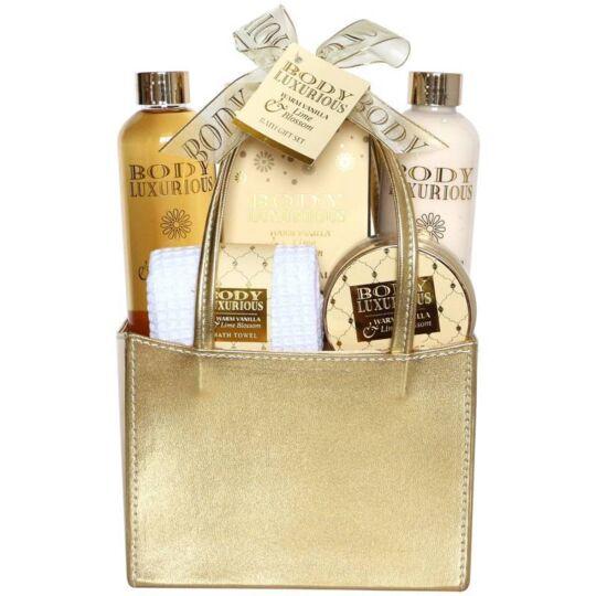 Coffret De Bain - Collection Body Luxurious Gold - Vanille Tilleul GLOSS