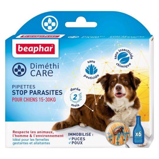 Beaphar – Diméthicare – Pipettes Stop Parasites Pour Chien Moyen 15-30 Kg BEAPHAR