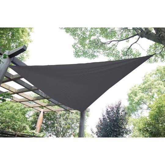 Voile d'ombrage triangle gris foncé 4 x 4 x 4 m - GQC00461H