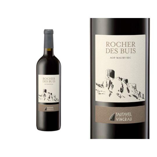 Les Vignerons De Tautavel Rocher Des Buis Rouge 2014 - Vin  Rouge