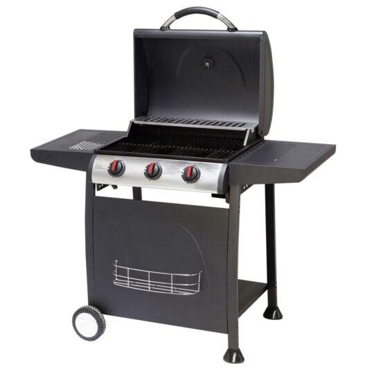 Barbecue à gaz 3 brûleurs Detroit