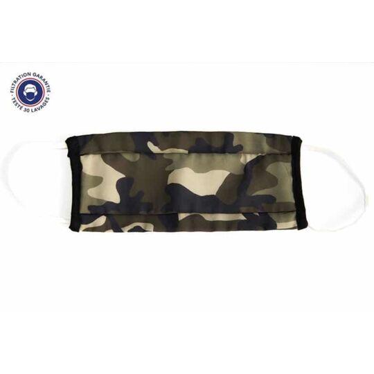 Masques barrière Adultes et Enfants Catégorie 1 -  60 lavages Pack de 10 masques