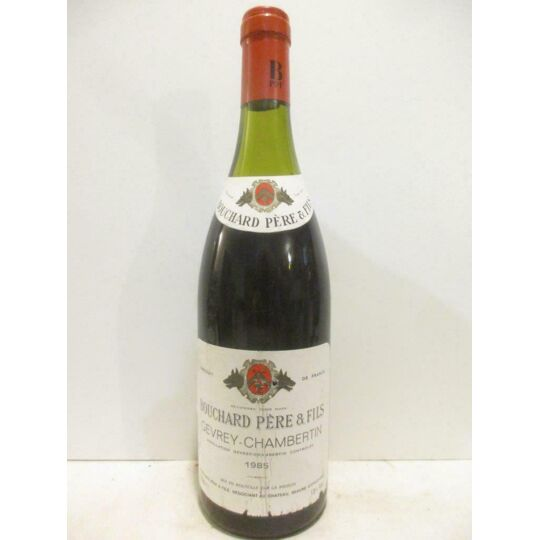 Gevrey Bouchard Père Et Fils Rouge 1985 - Bourgogne BOUCHARD PÈRE ET FILS