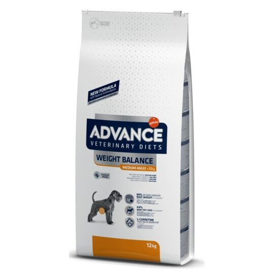 Croquettes Affinity Advance Veterinary Diets Weight Balance Medium Maxi 12 Kg ADVANCE