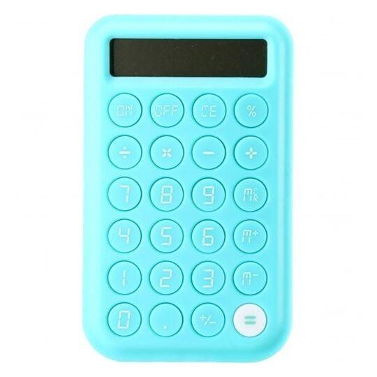 Calculatrice large - CCA41-Turquoise