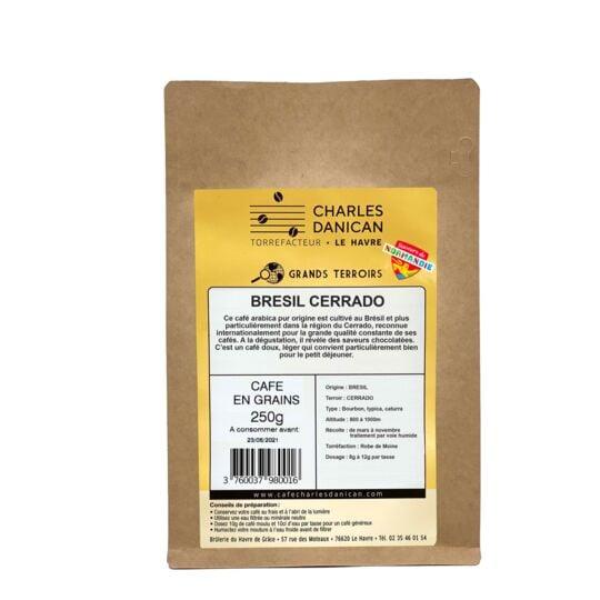 Café Brésil 250g Grains