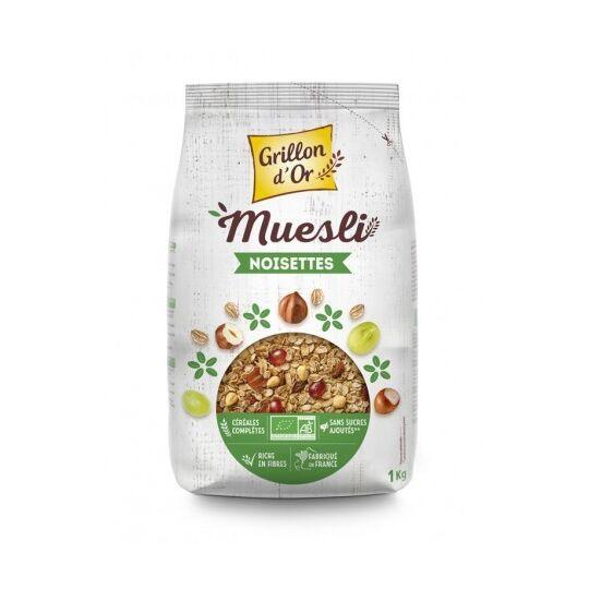 Muesli Raisins Noisettes GRILLON D'OR