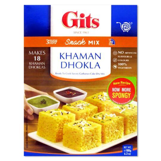 Préparation Khaman Dhokla Gâteau Indien Salé GITS