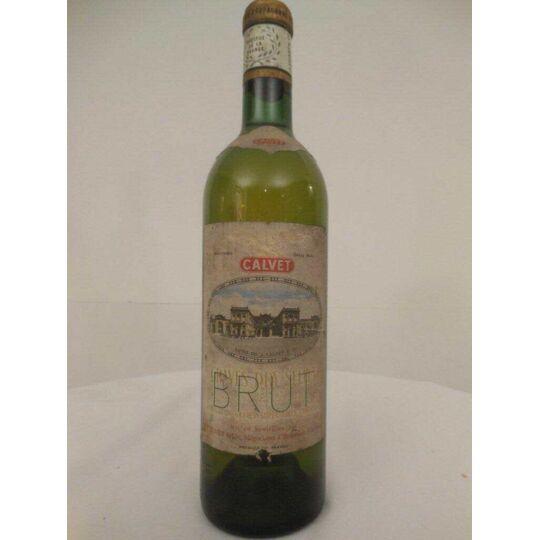 Graves Calvet Dry Select Blanc Années 60 - Bordeaux.