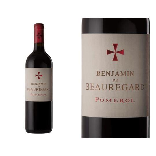 Le Benjamin De Beauregard 2016 - Vin  Rouge