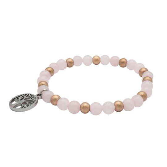 Bracelet Bien-être Quartz Rose - Labise