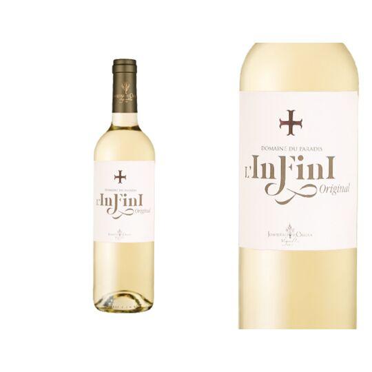 Lot De 6four_pack_size, Domaine Du Paradis Infini Blanc 2019, Vin Blanc