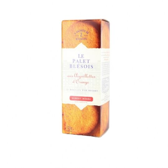 Palets Blésois Aux Aiguillettes D'orange