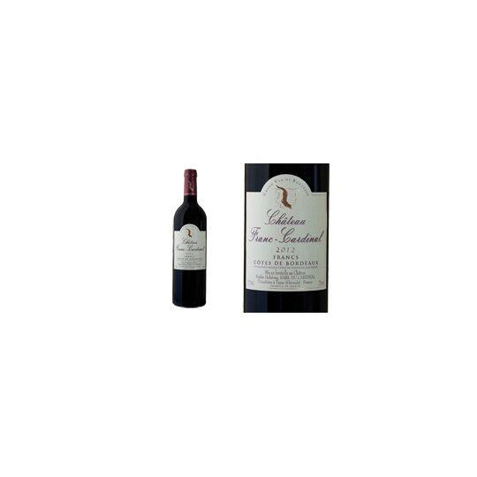 Château Franc-cardinal 2012 - Vin  Rouge