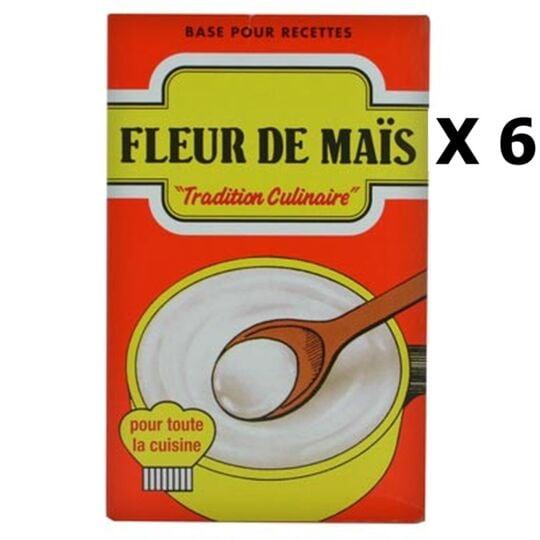 Lot 6x Fleur De Maïs - Sans Gluten - Boîte 350g AGIDRA