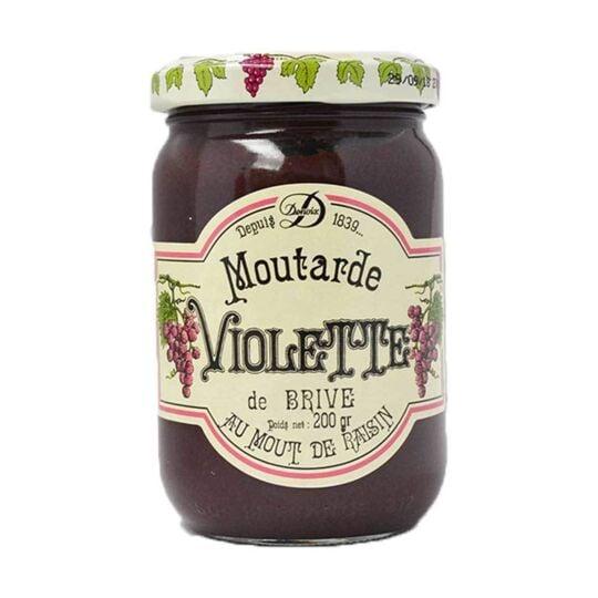 Moutarde Violette De Brive DENOIX MAITRE LIQUOREUX