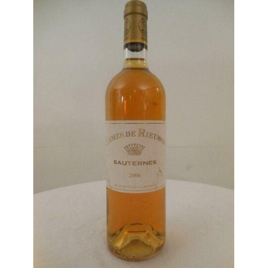 Sauternes Les Carmes De Rieussec Liquoreux 2006 - Bordeaux.