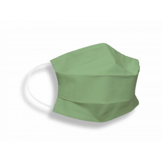 Masques Tissus Unis Adulte En Coton Certifié Dga/ifth Vert
