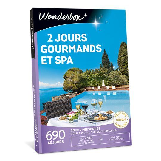 2 Jours Gourmands Et Spa WONDERBOX