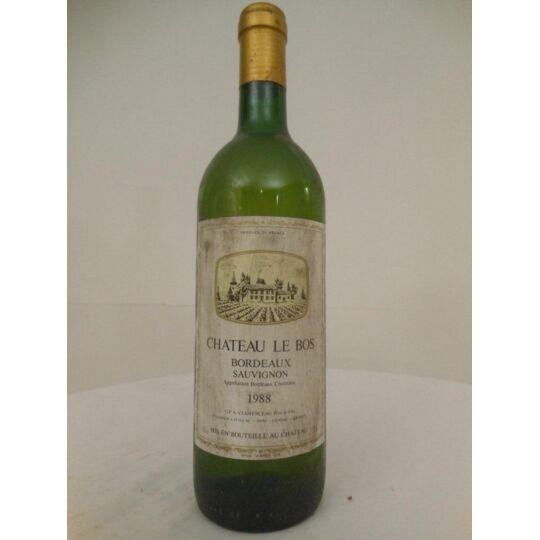 Bordeaux Château Le Bos Blanc 1988 - Bordeaux.