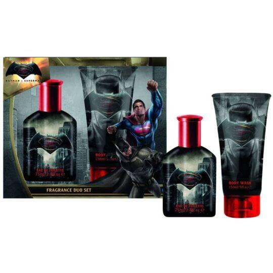 Batman Coffret Enfant Eau De Toilette 50ml, Gel Douche 150ml MARVEL