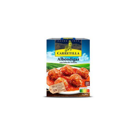 Albondigas À La Sauce Tomate Carretilla 300 Grs