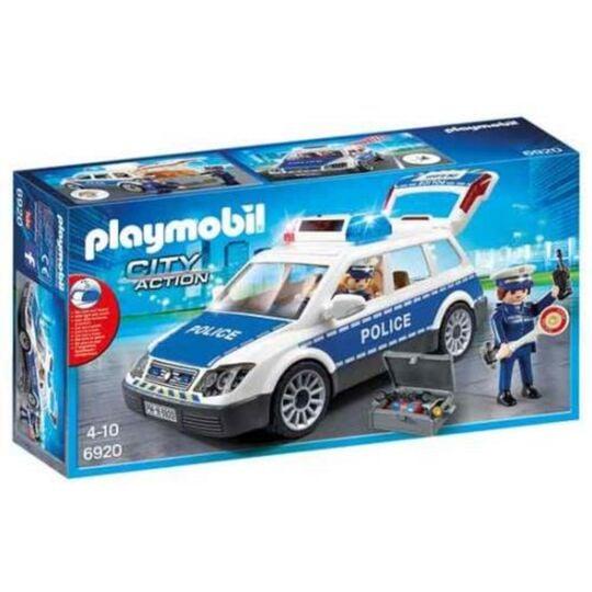 6920 - City Action voiture de police PLAYMOBIL