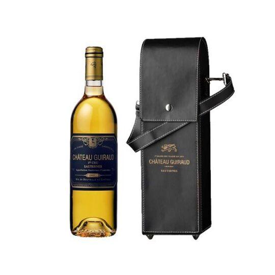 Château Guiraud 2003 + Sacoche Luxe En Cuir - Vin  Blanc