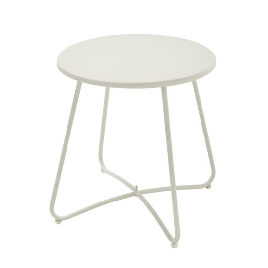 Table basse ronde - Ivoire