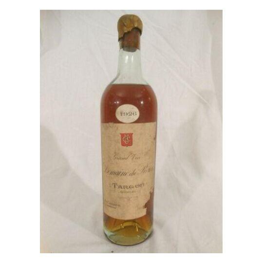 Targon Domaine Du Roux (liquoreux ???) Blanc 1926 - Bordeaux